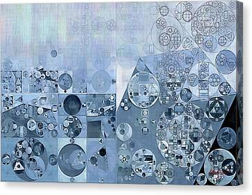 Abstract Painting - Light Steel Blue Canvas Print by Vitaliy Gladkiy