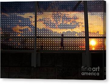 Abstract Silhouettes Canvas Print