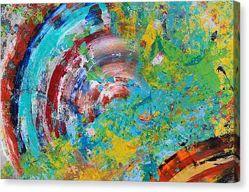 Abstract Spin Canvas Print by Sumit Mehndiratta