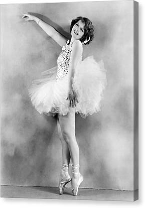 Ballet Dancers Canvas Print - Actress Sally Starr by Underwood Archives