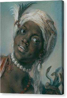 Africa Canvas Print by Rosalba Carriera