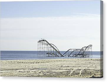 After Hurricane Sandy Canvas Print by Erin Cadigan