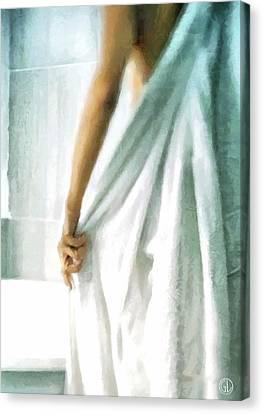 Canvas Print featuring the digital art After The Bath by Gun Legler