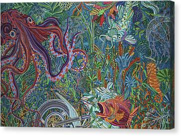 Aftermath Canvas Print by Erika Pochybova