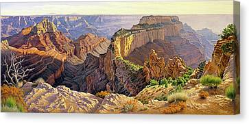Afternoon-north Rim Canvas Print by Paul Krapf