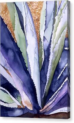 Agave 3 Canvas Print by Eunice Olson