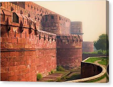 Agra Fort, Uttar Pradesh, India. Canvas Print