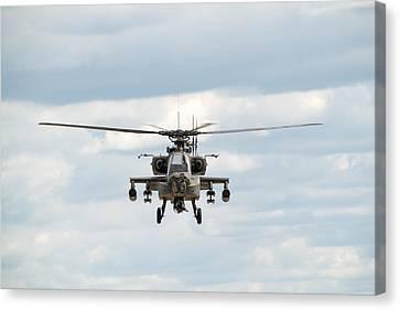 Ah-64 Apache Canvas Print