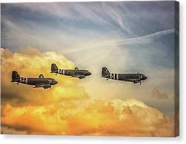 Airshow Canvas Print by Martin Newman