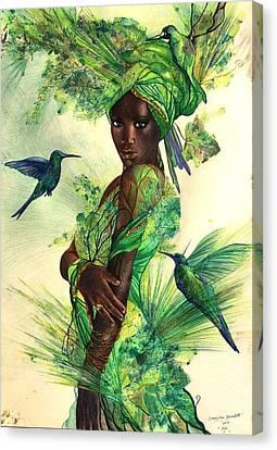 Aja Canvas Print