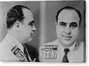 Al Capone 1899-1847, Prohibition Era Canvas Print by Everett