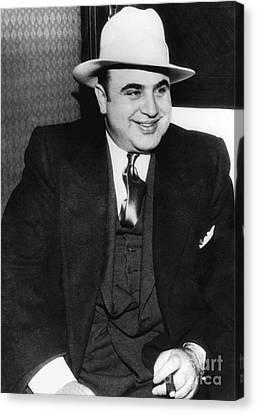 Al Capone Canvas Print by American School
