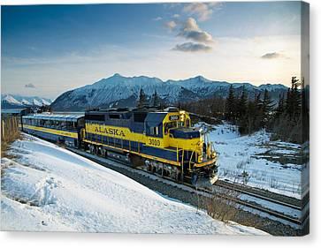 Alaska 3010 Canvas Print by Ed Boudreau