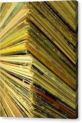 Canvas Print - Albums II by Anna Villarreal Garbis