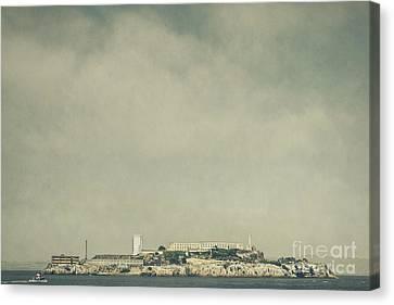 Alcatraz Canvas Print by Andrew Paranavitana