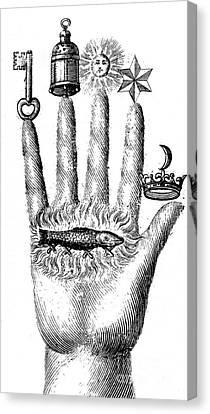Alchemical Symbols Canvas Print