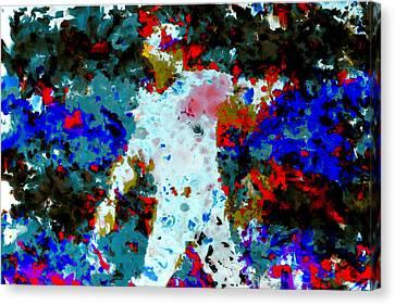 Alex Rodriguez 02b Canvas Print