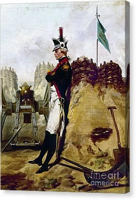 Artillery Canvas Print - Alexander Hamilton by Granger