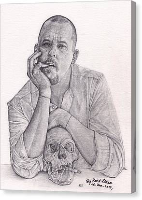 Alexander Mcqueen Savage Beauty Canvas Print by Kent Chua