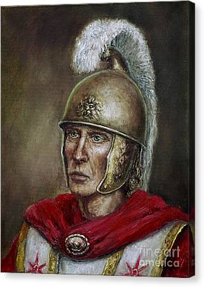 Alexander The Great Canvas Print by Arturas Slapsys