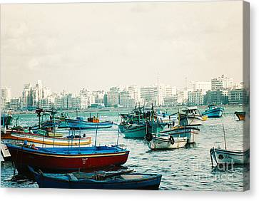 Alexandrian Harbour Canvas Print