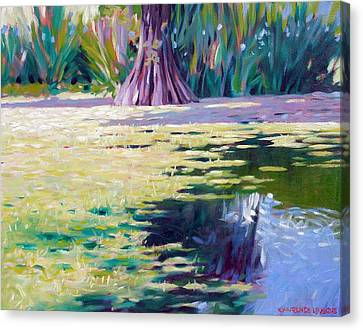 Algae Canvas Print by Kevin Lawrence Leveque