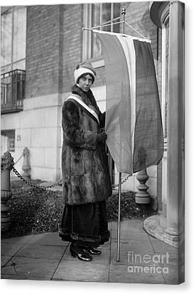 Alice Paul (1885-1977) Canvas Print by Granger