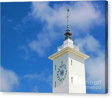 All Along The Watchtower Canvas Print by Debbi Granruth