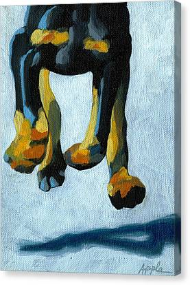 All Fours Canvas Print by Linda Apple