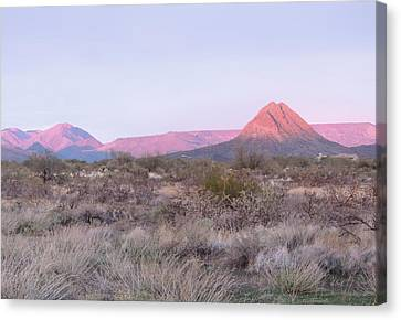 Almost Sundown Canvas Print by Gordon Beck