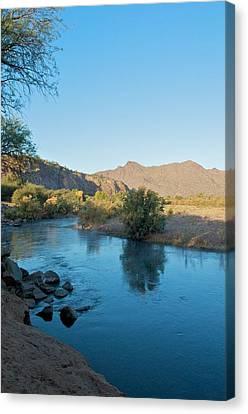 Along The Verde River 14 Canvas Print by Susan Heller