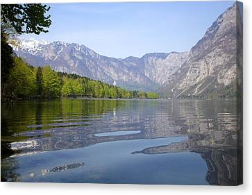 Canvas Print featuring the photograph Alpine Clarity by Ian Middleton