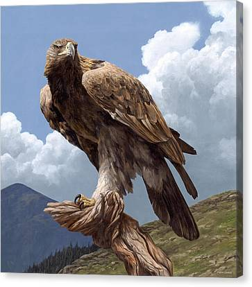 Alpine Hunter Canvas Print