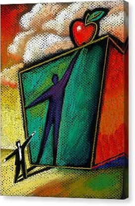 Ambition Canvas Print by Leon Zernitsky