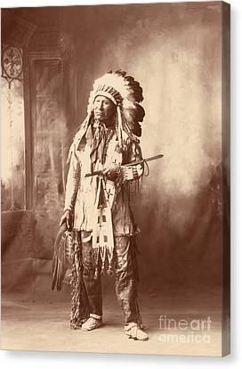 American Horse, Oglala Lakota Indian Canvas Print by Science Source