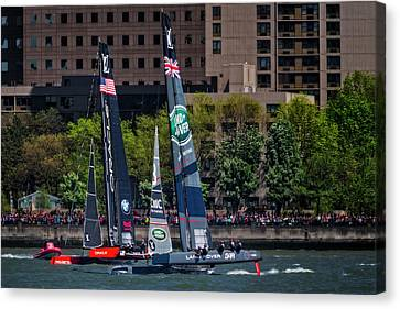 Bar Canvas Print - America's Cup World Series New York by Susan Candelario