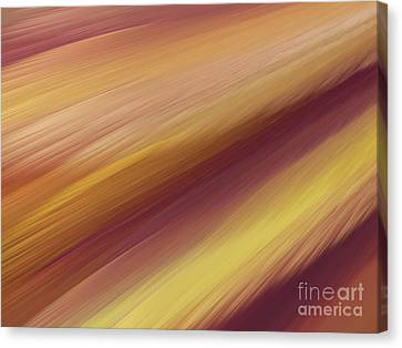 Canvas Print featuring the digital art Andee Design Abstract 76 2017 by Andee Design