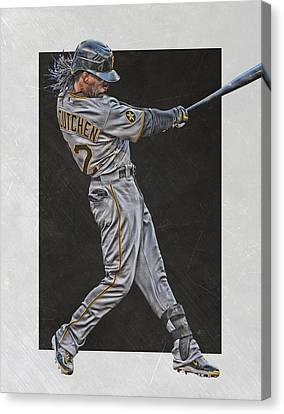 Andrew Mccutchen Pittsburgh Pirates Art Canvas Print