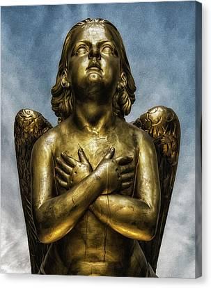 Angel Canvas Print by Martin Newman