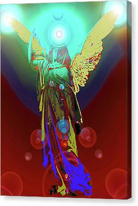 Angel Of Harmony No. 08 Canvas Print by Ramon Labusch