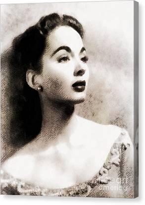 Ann Blyth, Vintage Actress Canvas Print
