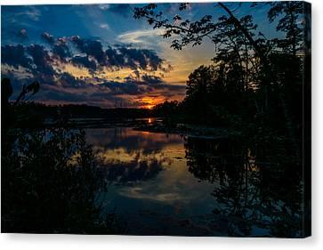 Soulful Sunset Canvas Print