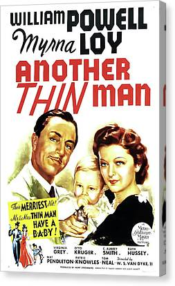 Another Thin Man 1939 Canvas Print