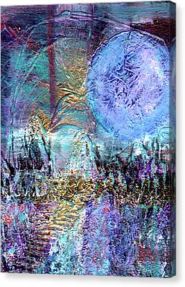 Another World Canvas Print by Wayne Potrafka