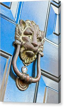 Antique Knocker Canvas Print by Tom Gowanlock