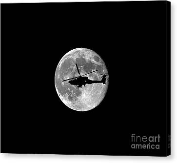 Apache Moon .png Canvas Print by Al Powell Photography USA