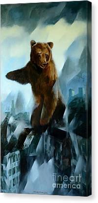 Apocalypse Canvas Print by Jukka Nopsanen