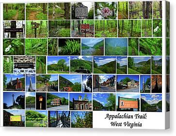 Canvas Print - Appalachian Trail West Virginia by Raymond Salani III