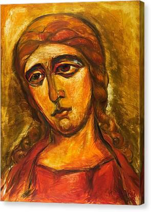 Archangel Gabriel Canvas Print by Ekaterina  Prozheyko