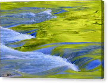 Argen River Canvas Print by Silke Magino
